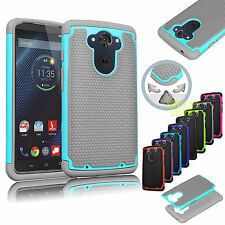 RUBBER PLASTIC HARD MATTE CASE COVER FOR MOTOROLA DROID TURBO IN BALLISTIC NYLON