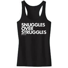 Women's DPCTED Snuggles Over Struggles Tank Top Cuddle