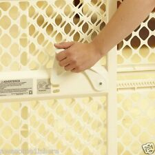 Locking Safety Gate Baby Dog Swing Doorway Stairs Adjustable Child Pet Plastic