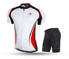 Mens Mountain Bike Jersey&Shorts Set Cycling T-Shirt Bike Short Sleeve Clothing