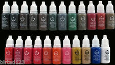 Permanent Makeup Farben 15ml BioTouch große Auswahl viele Farben/all Colors MSDS