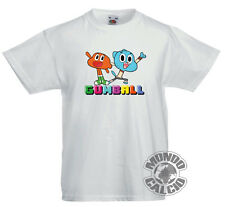 JERSEY THE AMAZING WORLD OF GUMBALL WITH DARWIN SHIRT KID BABY CHILD BOY