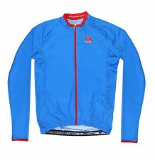 Suarez Performance Line Long Sleeve Cycling Jersey - Blue -  RRP £54.99