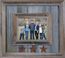 NEW WIDE DURANGO WESTERN COWBOY BARN WOOD PICTURE FRAME COUNTRY RUSTIC DECOR