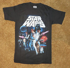STAR WARS ~ Classic ~ Mens T Shirt, New, ~ Space Movie Luke Princess Leia L@@K
