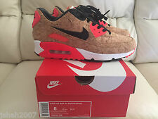 NIKE AIR MAX 90 CORK INFRARED TRAINERS SHOES SNEAKERS ALL SIZES UK 6-11 NEW 7 8
