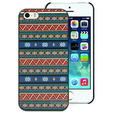 NEW Blue Green Red Aztec Totem Hard Case for Apple iPhone 4S 4 5S 5 Cover 6