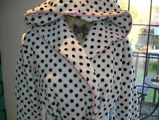 NEW Size 10 Long Dalmatian Spot Print Dressing Gown Robe NEXT Sample