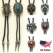 BRAND NEW AZTEC INDIAN GUITAR PAW BULL RODEO WESTERN COWBOY BOLO TIE