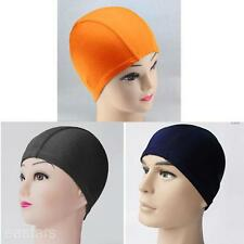 Adults Women Men Water Sports Wear Cap Soft Elastic Diving Swimming Surfing Hat
