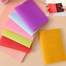Waterproof Silicone Ticket Holder Passport Holder Passport Cover Case Travel