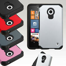 For Nokia Lumia 635 630 Hybrid ShockProof Protective Hard Case Cover