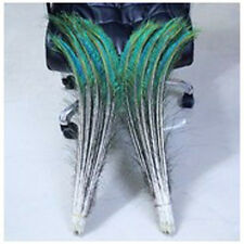 Wholesale 10-1000 PCS peacock feathers sword 30-70cm /12-28inches L and R