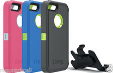 Authentic Otterbox Defender Case w/ Clip Apple iPhone 5/5s Touch ID Compatible