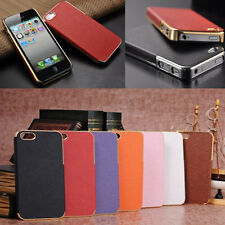 NEW Shockproof Dirt Dust Proof Metal Frame PC Hard Case Cover For iPhone 5 5S SE