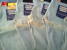 DEFECTIVE!!! NAKED AND & FAMOUS THERMOCHROMIC WEIRD GUY JAPANESE SELVEDGE JEANS