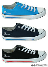 CROSSHATCH mens HALFPIPE plimsolls trainers shoes NEW IN BOX & IN STOCK NOW