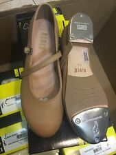 BLOCH TAP DANCE SHOES 302L 302 Ladies Tap on   TAN sizes 7.5 - 11 -- NEW