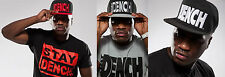 NEW STAY DENCH BOYS KIDS black grey red snap back baseball street cap