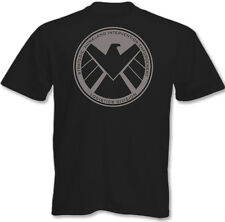 Mens Marvel's Agents of Shield T-Shirt Sheild S.H.I.E.L.D Iron Man The Avengers