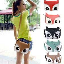 Cartoon Fox Handbags Girl Women Shoulder Bag Satchel Cross Body Bag Pop