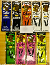 Cablz Adjustable Zipz Monoz Fluorescent Choose Colors. Big selection in store