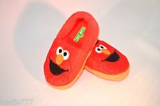 Sesame Street Elmo Toddler Girls Boys Slippers Size M L 7 8 9 10 Red Soft NWT