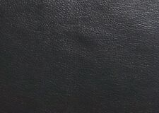 Faux Leather Vinyl Blend Fabric - Black Calfskin - Upholstery/Automotive/Apparel