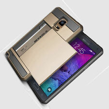 Card pocket Wallet Slim Hybrid Case cover For Samsung Galaxy S6 S5 Note 4 Note 3