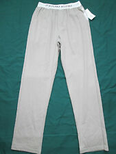 CALVIN KLEIN Mens Grey 100% Cotton Pijama Lounge Pants M9715 Size MEDIUM