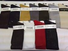 Stacy Adams Mens Over the Calf Ribbed Silk Dress Socks Fits Shoe Size 6-12 New