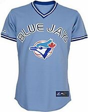 Toronto Blue Jays Throwback Retro Majestic MLB Replica Jersey Adult Sizes