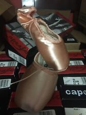 Capezio 196 Pointe ballet dance shoes PLIE I adult  European PINK, size 8M