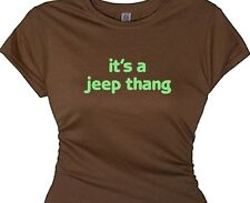 girls 4x4 jeep thing thang country off road t shirt redneck top country gal tee