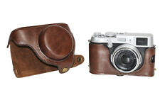 New Leather camera case bag Cover for Fujifilm Fuji X100 X100S X100T Finepix