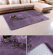 50*80cm Dining room Carpet Shaggy Soft Area Rug Bedroom Square Floor Mat