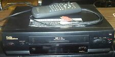 "CURTIS MATHES VCR-VIDEO CASSETTE RECORDER-4 HEAD-WITH REMOTE-WORKS GREAT ""LOOK"""