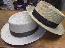Steve Harvey Dobbs Stylin Mens Straw Summer Hats Made in USA New with Tags
