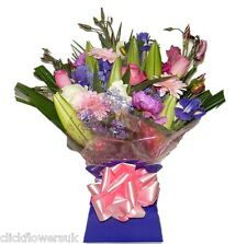 Fresh Real Flowers Delivered Perfect All Occasions Florist Choice Bouquet