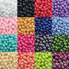 Wholesale Czech Glass Pearl Round Spacer Loose Beads DIY 4mm/6mm/8mm/10mm/12mm