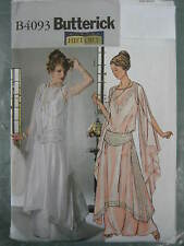 BUTTERICK Edwardian Titanic Period History Dress COSTUME SEWING PATTERN 4093