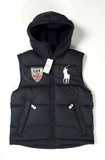 POLO RALPH LAUREN MENS NEW NAVY GB COUNTRY DOWN VEST GILET BODY WARMER ALL SIZES