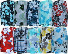 New Mens Boys Summer Floral Print Beach Shorts Surf Board Swim Shorts M - XXL