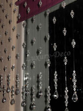 1 PCS 1 x Strand Of Net Curtains Crystal Chain Net Curtains String Curtains