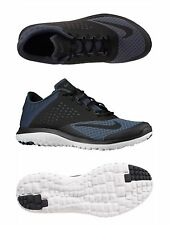 Nike Lite Run 2 FS Dark Magnet Free Flex Running Shoes Grey/White/Black NEW