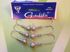 10 or 5 ( 7g)  Jig Heads GAMAKATSU HOOKS For Soft Body Lures Choose From  SIZES