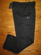 "New Under Armour 30"" Warm-Up Sweat Pants Black 1250707 Men's LG  XL  $50"