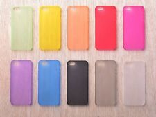 Ultra Thin 0.3 MM Slim Clear Matte Soft Cover for iPhone 4/4s, 5/5s back case