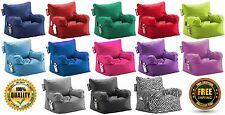 Big Joe Bean Bag Chair, Multiple Colors Adult Kids Teens Dorm Choose Color