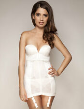 Gossard Retrolution Ivory Strapless Slip 8510